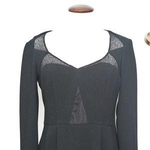 Nanette Lepore Black Knee-length Gothic Dress 💋